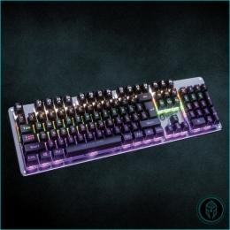 Teclado Gamer Mecanico Usb 105 Teclas Retroiluminado