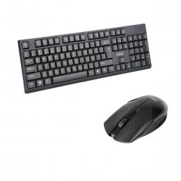 Teclado Usb Español 105 Teclas + Mouse Usb 3 Botones