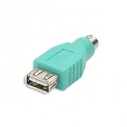 ADAPTADOR (PS/2 A USB) - PS/2 Macho / USB Hembra -  CTM023