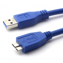 CABLE USB AM/MICRO HDD 1,00MTS - USB034