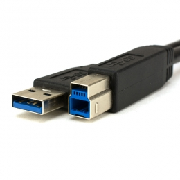 CABLE USB AM/BM 3.0 - 1,80MTS. - USB025