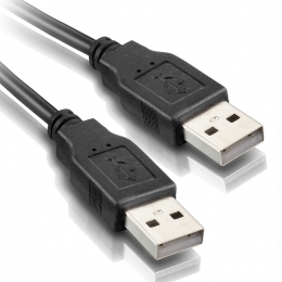 CABLE USB AM/AM 2.0 - 1,80MTS. - USB008