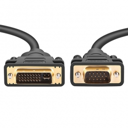 CABLE VIDEO DVI-I 24+5M / VGA 15M CON FILTRO 1,80 MTS. - CPM021