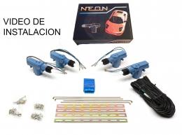 Cierre Centralizado Neon 4 puertas Universal Cualquier Vehiculo