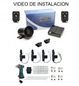 Alarma auto DP20 TX915 New con sensor volumetrico (ultrasonido) + cierre centralizado electrico 4ptas