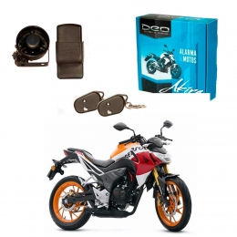 Alarma Moto DEO Akira anti asalto presencia - impactos - acelerometro - Baliza para conector original Honda CB190
