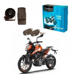 Alarma Moto DEO Akira anti asalto presencia - impactos - acelerometro - Baliza para conector original KTM Duke 250