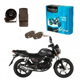 Alarma Moto DEO Akira anti asalto presencia - impactos - acelerometro - Baliza para Conector Directo Zanella Rks 150