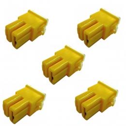 5 x Fusibles Pal Hembra 60 Amperes