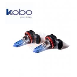 Kit 2 Lamparas Tipo Xenon H11 12v 55w Super Blanco Kobo 12362