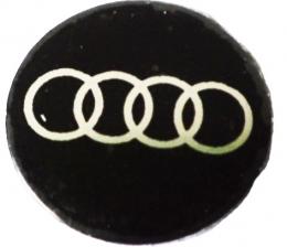 Logo Metalico Audi Para Llaves Navaja De 14mm