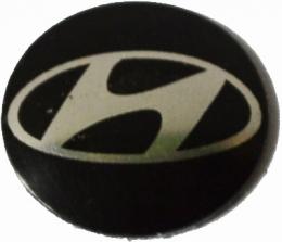 Logo Metalico Hyundai Para Llaves Navaja De 14mm