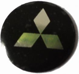 Logo Metalico Mitsubishi Para Llaves Navaja De 14mm
