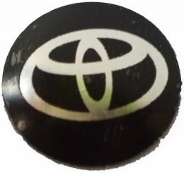 Logo Metalico Toyota Para Llaves Navaja De 14mm