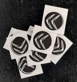 Logo Citroen Para Llaves Navaja De 14mm Negro