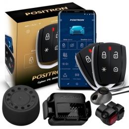 Alarma Positron Px360bt con sensor volumetrico (ultrasonido) sistema Bluetooth