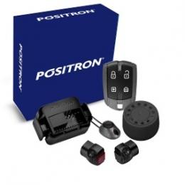 Alarma Positron Ax360us con sensor volumetrico (ultrasonido) y antiasalto por presencia