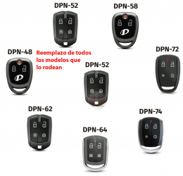 Control Remoto De Presencia Pst (positron) DPN52 lineas superiores 300