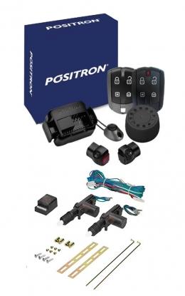Alarma Positron Ax360us con sensor volumetrico (ultrasonido) y antiasalto por presencia+ cierre centralizado electrico 2ptas