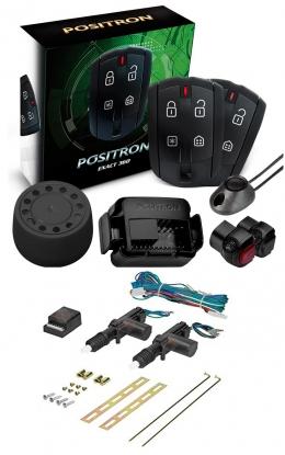 Alarma Positron Ex360us con sensor volumetrico (ultrasonido) + cierre centralizado electrico 2ptas