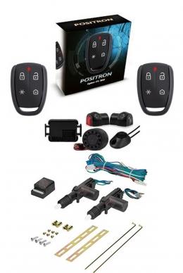 Alarma Positron Fx360us con sensor volumetrico (ultrasonido) + cierre centralizado electrico 2ptas