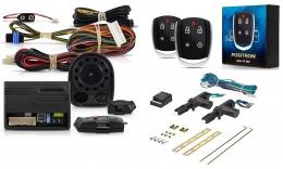 Alarma Positron Tx360us con sensor volumetrico (ultrasonido) y antiasalto por presencia + cierre centralizado electrico 2ptas