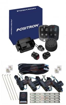 Alarma Positron Ax360us con sensor volumetrico (ultrasonido) y antiasalto por presencia + cierre centralizado electrico 4ptas