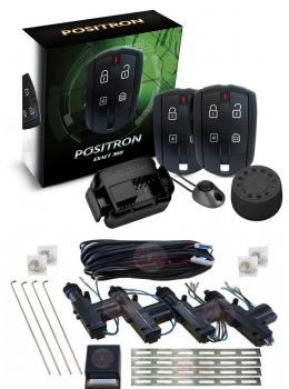 Alarma auto Positron Ex360imp con sensor de impactos + cierre centralizado electrico 4ptas