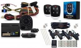 Alarma Positron Tx360us con sensor volumetrico (ultrasonido) y antiasalto por presencia + cierre centralizado electrico 4ptas