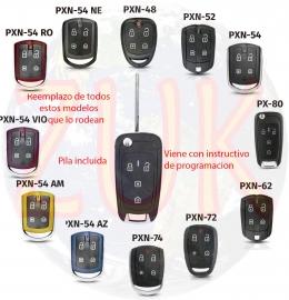 Control Llave Navaja Alarma Positron Px80 Adaptacion