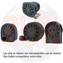 Sirena Para Alarmas Pst (positron) I400 - I500 - I600 - I700