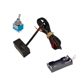 Simulador de alarma activada tipo volumetrico (ultrasonido) a pilas