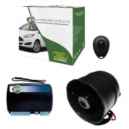 Alarma Auto X28 KL20 RH usa llave comando a distancia original Plip volumetrica (ultrasonido) Antiasalto presencia - mensajes hablados
