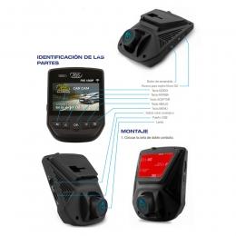 Camara Video Para Vehiculos X28 Carcam Mpxc Registra Todo Lo Que Sucede Al Conducir Y Al Dispararse La Alarma