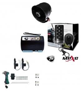 Alarma auto X28 Z30 RH con sensor volumetrico (ultrasonido) antiasalto presencia - mensajes hablados  cierre central electrico 2ptas