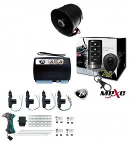 Alarma auto X28 Z30 RH con sensor volumetrico (ultrasonido) antiasalto presencia - mensajes hablados + cierre central electrico 4ptas