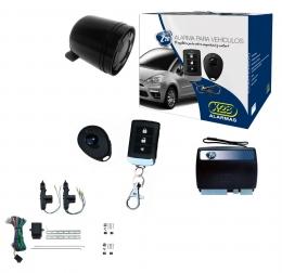 Alarma auto X28 Z20 RS con sensor volumetrico (ultrasonido) antiasalto presencia + cierre central electrico 2ptas