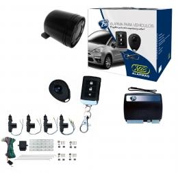 Alarma auto X28 Z20 RS con sensor volumetrico (ultrasonido) antiasalto presencia + cierre central electrico 4ptas