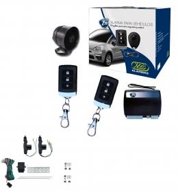 Alarma auto X28 Z20 H con sensor volumetrico (ultrasonido) mensajes hablados + cierre central electrico 2ptas