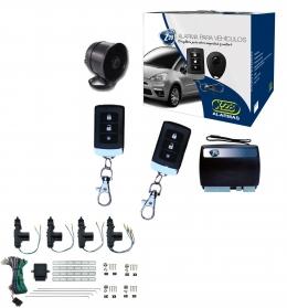 Alarma auto X28 Z20 H con sensor volumetrico (ultrasonido) mensajes hablados + cierre central electrico 4ptas