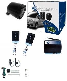 Alarma auto X28 Z20 S con sensor volumetrico (ultrasonido) + cierre central electrico 2ptas