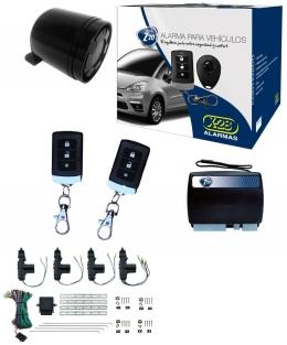 Alarma auto X28 Z20 S con sensor volumetrico (ultrasonido) + cierre central electrico 4ptas
