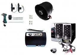 Alarma auto X28 Z30 H con sensor volumetrico (ultrasonido) mensajes hablados + cierre central electrico 2ptas