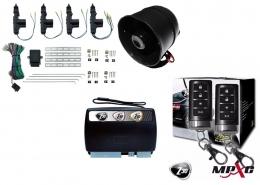 Alarma X28 Z30 H con sensor volumetrico (ultrasonido) mensajes hablados + cierre central electrico 4ptas