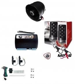 Alarma auto X28 Z40 H con sensor volumetrico (ultrasonido) mensajes hablados GPRS + cierre central electrico 2ptas