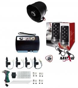 Alarma X28 Z40 H con sensor volumetrico (ultrasonido) mensajes hablados GPRS + cierre central electrico 4ptas