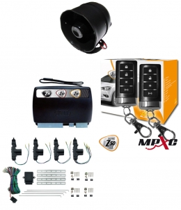 Alarma X28 Z50 H con sensor volumetrico (ultrasonido) mensajes hablados GPS-GPRS + cierre central electrico 4ptas