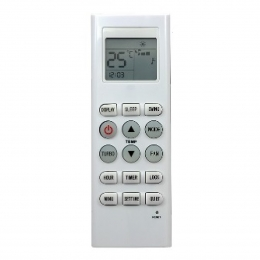 Control remoto Aire Acondicionado 858 Audinac Standard electric Aurora Marshall