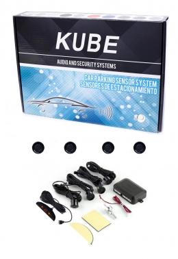 Sensor Estacionamiento Retroceso Kube Negro con Display y sonido