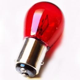 5 Lamparas S25 12v 32/4cp Rojo Pata Despareja Doble